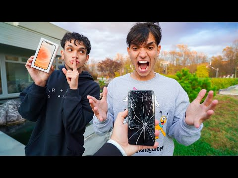breaking-my-twin-brother's-phone,-then-surprising-him-with-a-iphone-12