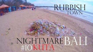 NIGHTMARE KUTA 🚯 THE WORST PLACE IN BALI✔Worldtravel Vlog#74 - Adventure in Indonesia - Weltreise