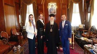Visit to Fener Greek Patriarch Bartholomeos.! (Adnan Oktar)