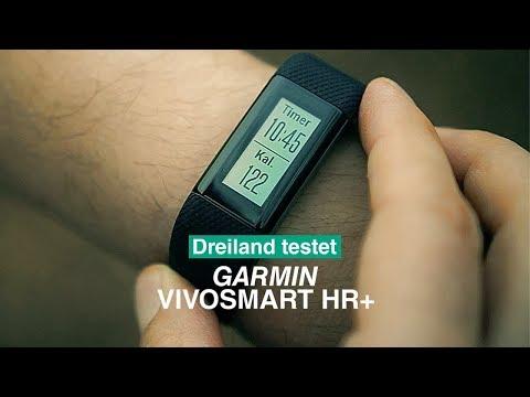 Vorschau: Garmin Vivosmart HR+ Fitness-Tracker I Dreiland testet