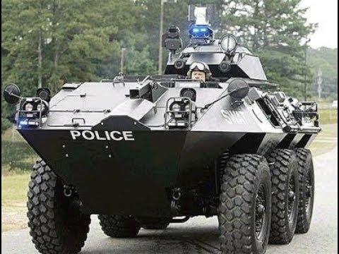 Trump Allows Cops Free Tanks & Grenade Launchers