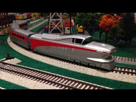 American H-Rail S Gauge Aerotrain Demo