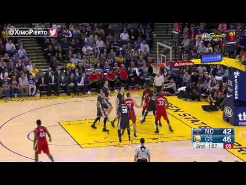 New Orleans Pelicans vs Golden State Warriors   Full Highlights   April 8, 2017   2016 17 NBA Season