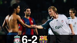 Liverpool vs Barcelona 6-2 - All Goals & Extended Highlights w/ English Commentary HD 1080i