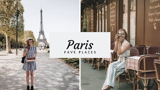 My Favourite Places in PARIS!