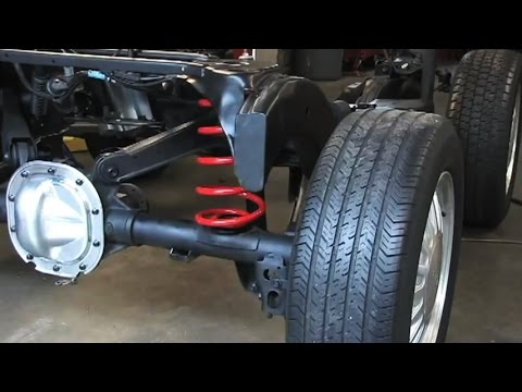 Westar   Converting from Air Suspension to Coil Spring Conversion     Westar   Converting from Air Suspension to Coil Spring Conversion