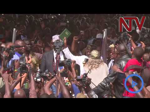 Kenya's Opposition leader Raila sworn in as people's president