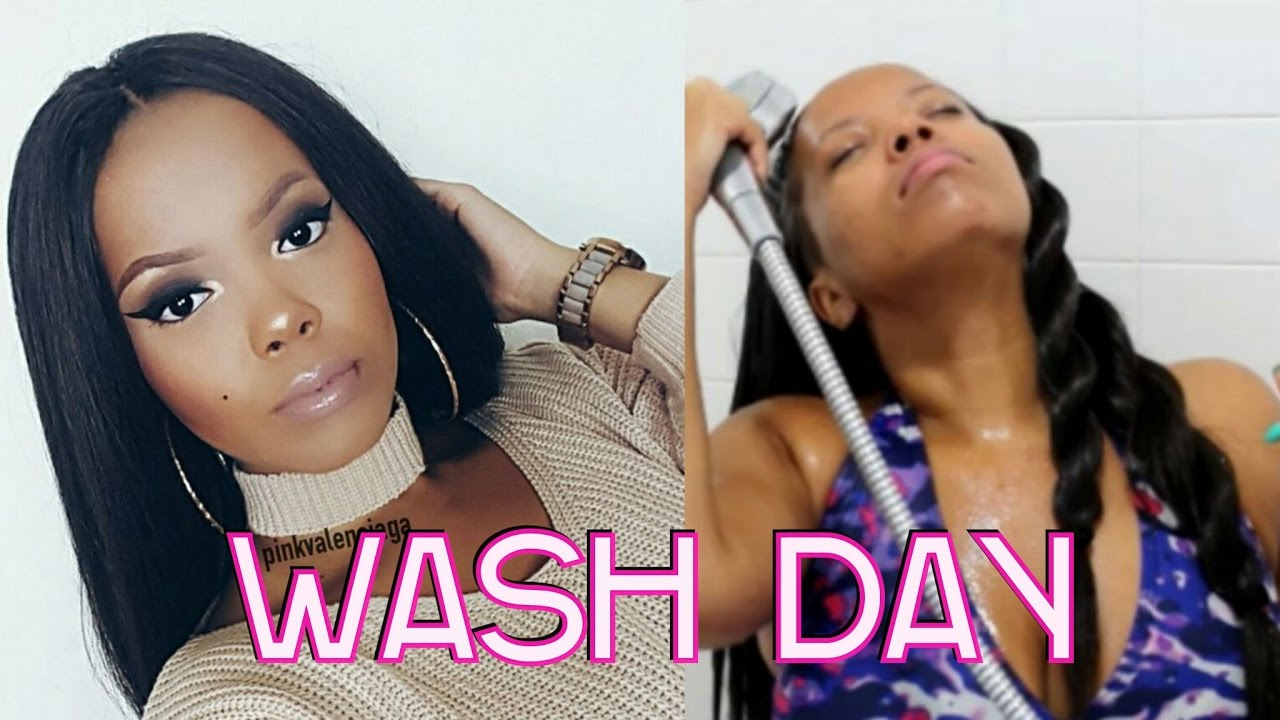 How To Wash Straight Crochet Braids Knotless Crochet For Growth