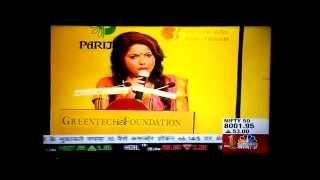 Ruchika Davar anchoring on CNBC 2