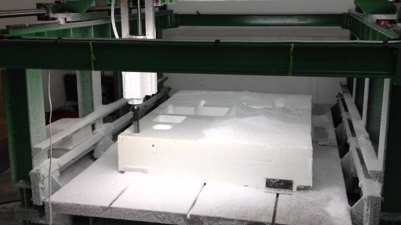 3d Cnc Foam Cutting Machines 1 2 Youtube