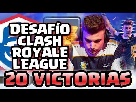 CONSIGUIENDO EL NUEVO DESAFÍO DE 20 VICTORIAS ( CLASH ROYALE LEAGUE) !!! - Soking - Clash Royale