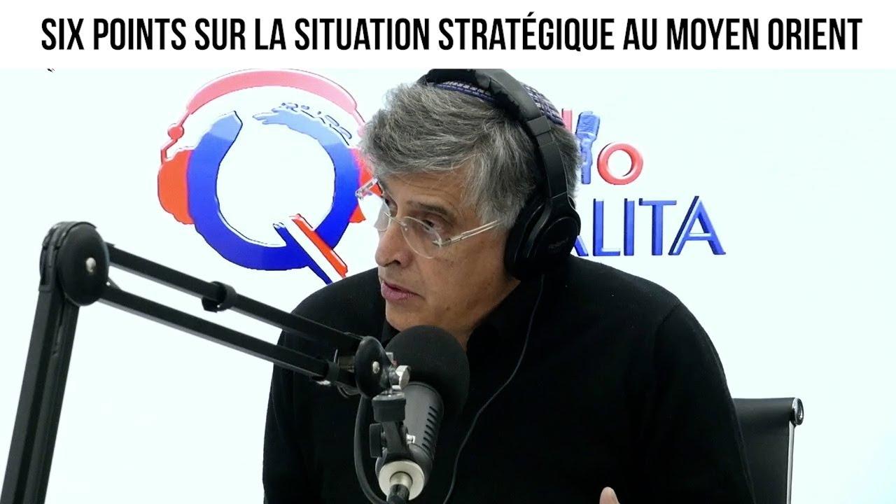 Six points sur la situation stratégique au Moyen Orient - IMO#123