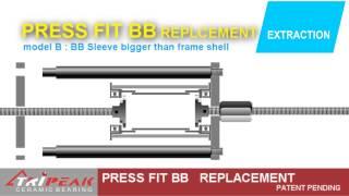 TRiPEAK Press Fit BB Replacement Tool Kits_ Y2014  New Product