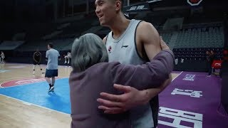 Chinese granny's passion for basketball