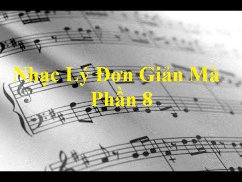 Nhạc Lý Đơn Giản Mà - Nhạc Lý Căn Bản - Gam song song, dấu hiệu nhận biết gam (Phần 8)