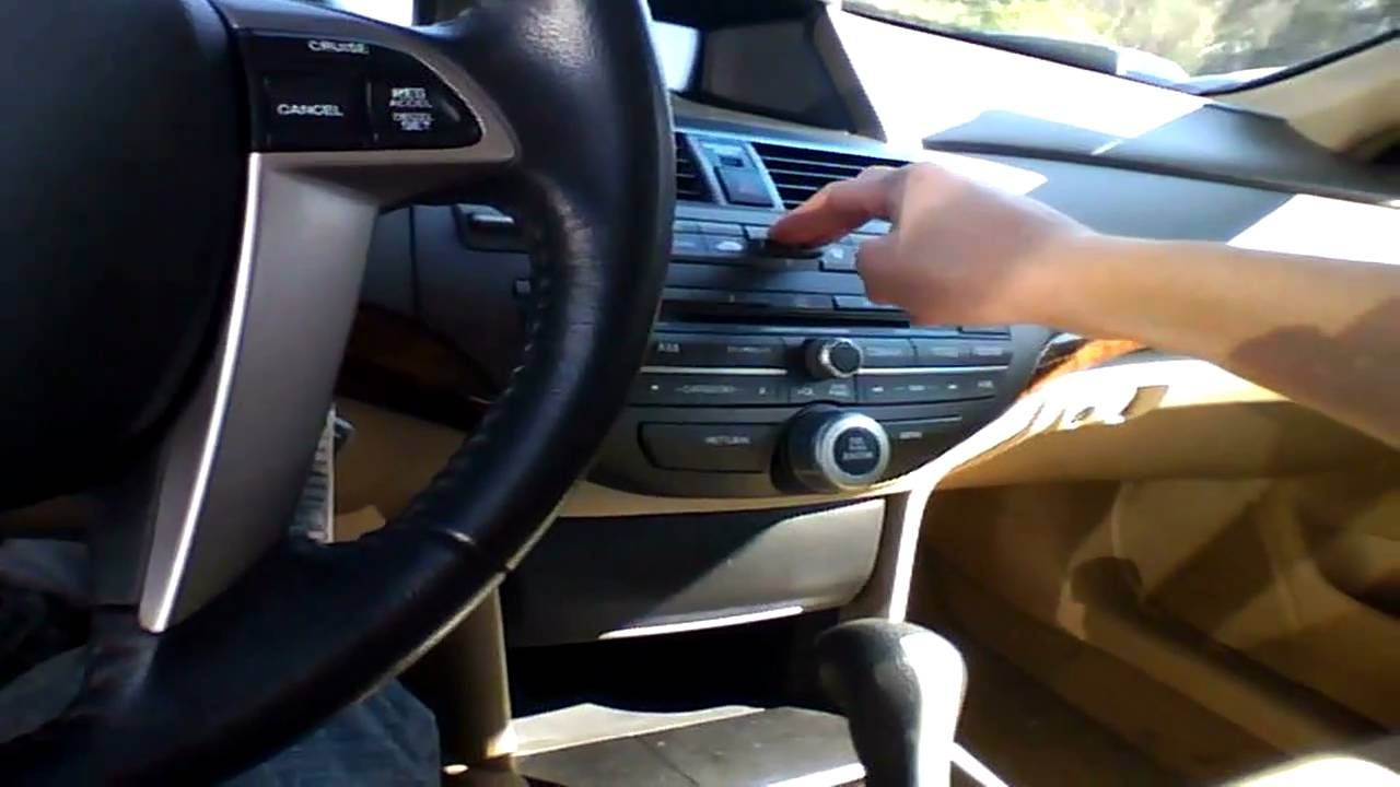 Honda Accord Ex-L >> 2009 Honda Accord Sedan EX-L V6 Quick Tour, Start Up, & Rev With Exhaust View - 56K - YouTube