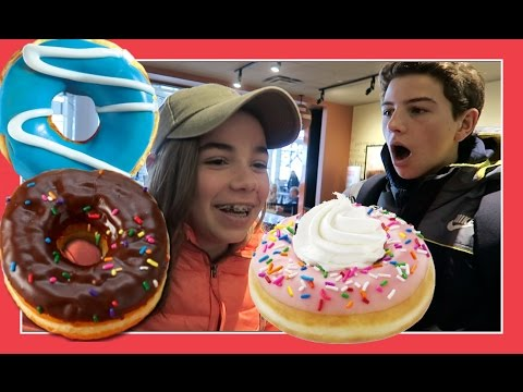 A DONUT DISASTER AT THE AIRPORT | Flippin' Katie