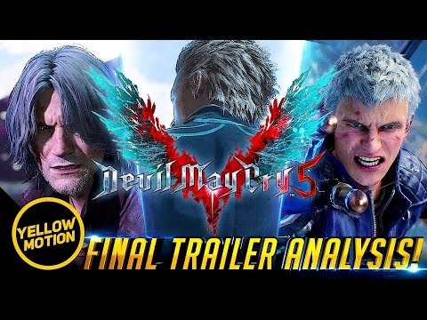 DEVIL MAY CRY 5 | Final Trailer Analysis Breakdown & Theory thumbnail