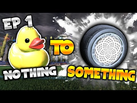 TRADING FROM NOTHING TO SOMETHING! *Part 1* NOTHING TO SOMETHING REBORN! (Rocket League)