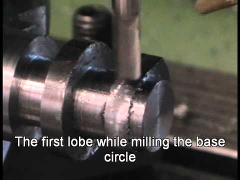 Milling a camshaft (with EMC2)