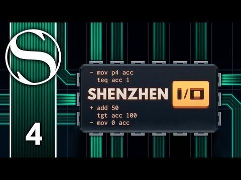 RUBBISH AUDIO THING - Let's Play Shenzhen I/O - Shenzhen IO Gameplay Part 4