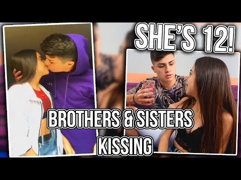 Siblings Kissing On Musical.ly (SHE'S 12 YEARS OLD!?)