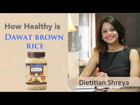 How healthy is Dawat Brown Rice -Dietitian Shreya
