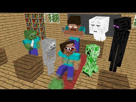 Monster School : MOB vs Noob - Minecraft...
