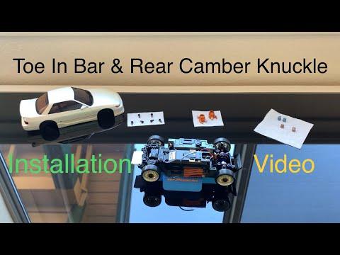 Toe In Bar & Rear Camber Knuckle Install Mini-z AWD MA-020s