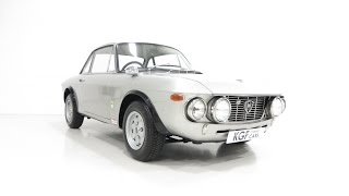 A Very Rare RHD Lancia Fulvia Rallye Series One 1.6HF 'Fanalone' Homologation Special.  SOLD!
