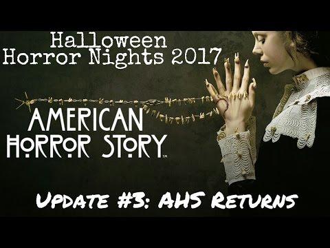 halloween horror nights 2017 update 3 american horror story revealed - Theme For Halloween Horror Nights 2017