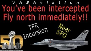 real atc aircraft intercepted by military f 16 at super bowl