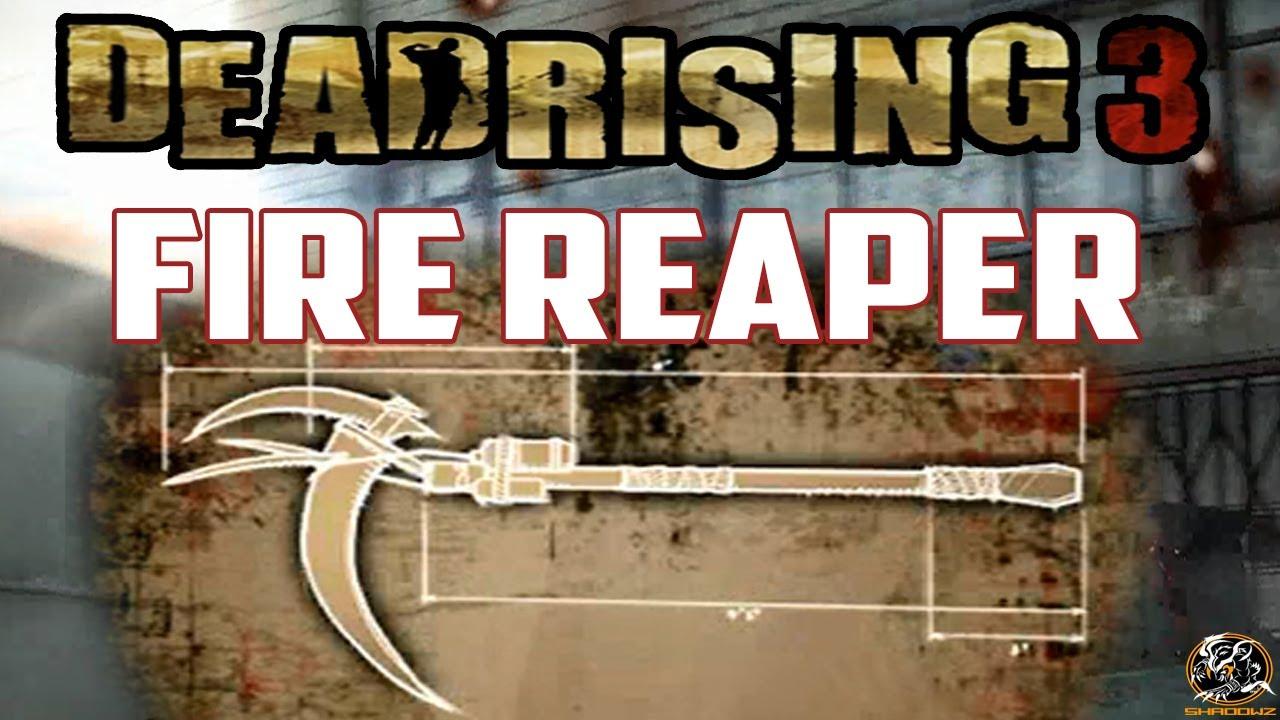 Dead rising 3 fire reaper blueprint location super combo weapon dead rising 3 fire reaper blueprint location super combo weapon guide youtube malvernweather Images