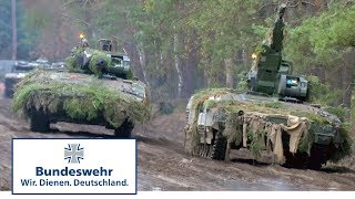 Gefechtsübung Teil 2/2: Schützenpanzer Puma  - Bundeswehr