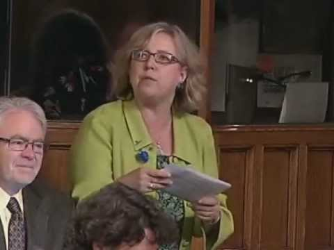 Elizabeth May: Question Period - Fisheries and Oceans