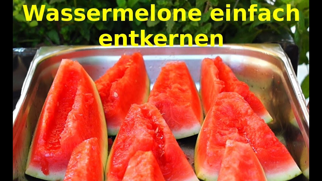Wassermelone entkernen schnell und einfach tipps und for Kochtipps schnell