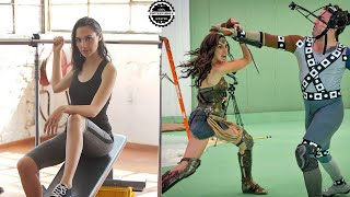 Gal Gadot Training Body for Wonder Woman Justice League