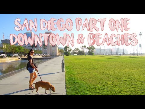 San Diego On a Budget - Part 1 Downtown & Beaches