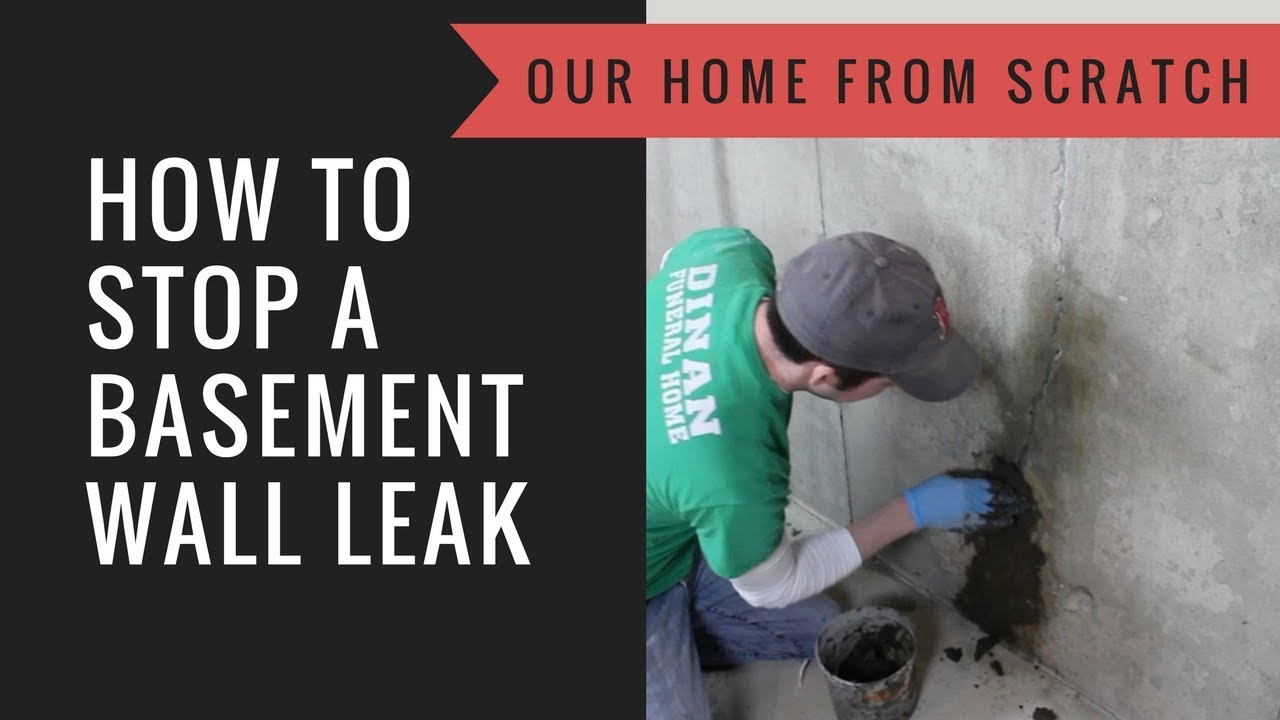 How To Stop A Basement Wall From Leaking You