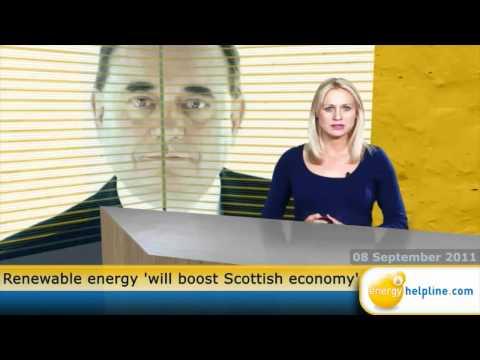 Renewable energy 'will boost Scottish economy'