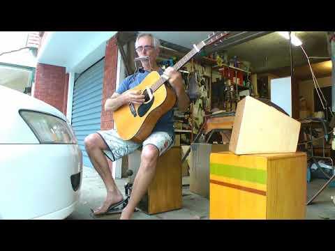 slide guitar rockbox cajon