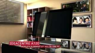 Lenovo IdeaCentre A720 All-In-One Tour