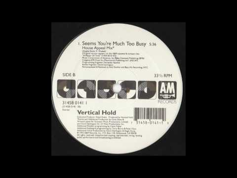Vertical Hold ft. Angie Stone - Seems You're Much Too Busy (House Appeal Mix)
