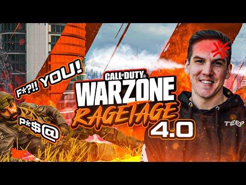 THE TEEP WARZONE RAGETAGE 4.0!! CRAZY DEATH CHAT REACTIONS! (Warzone)