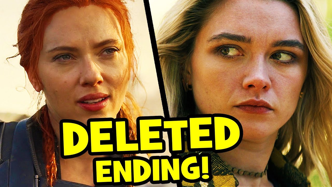 BLACK WIDOW Nearly Returned From The Dead! - DELETED SCENES & CREDITS Explained