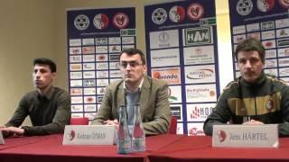 Berliner Athletik Klub 07 versus VfB Lübeck - 0:0 - Pressekonferenz