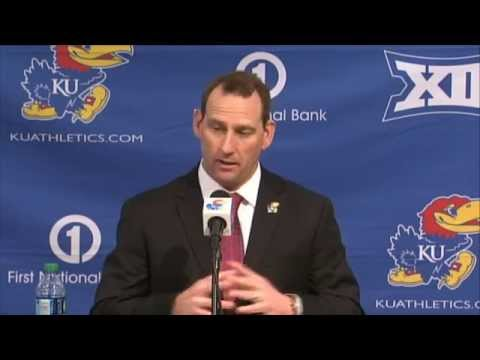 David Beaty Introductory Press Conference // Kansas Football // 12.8.14