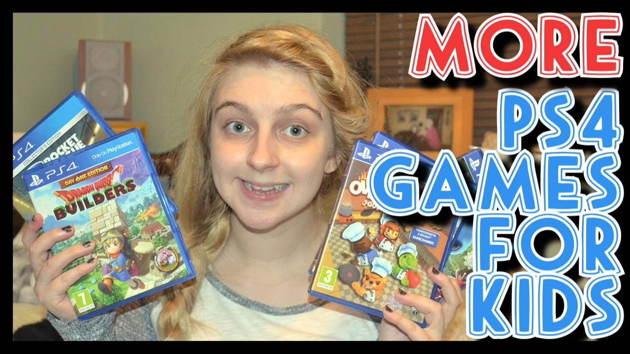 MORE PS4 Games For Kids!!! | Recommendations