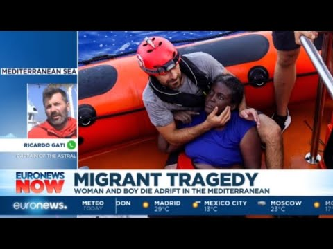 "Migrant Tragedy; We speak to Ricardo Gati the Captain of the vessel ""Astral"""