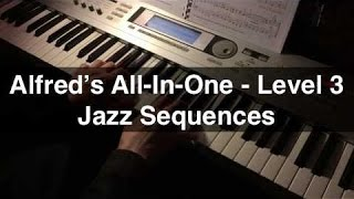 Jazz Sequences - Alfred's All-In-One 3